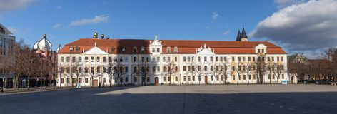 Parliament building of saxony anhalt in magdeburg germany. The parliament building of saxony anhalt in magdeburg germany Stock Images