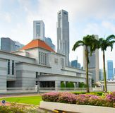 Parliament building of Singapore Stock Photography