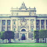 Parliament building in Stockholm Stock Images