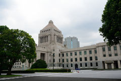 Parliament building, Tokyo, Japan Royalty Free Stock Images