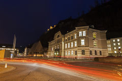 Parliament building in Vaduz Royalty Free Stock Photos