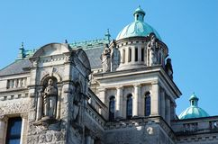 The parliament building in victoria Stock Photography