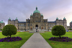 Parliament Building in Victoria, BC, Canada Stock Photo