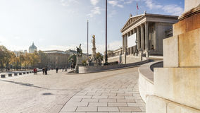 Parliament building in Vienna Austria Stock Photography