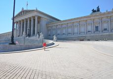 Parliament Building. Vienna. Austria Royalty Free Stock Photography