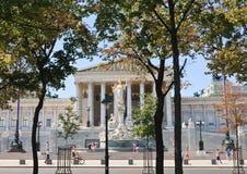 Parliament Building. Vienna. Austria Royalty Free Stock Photo