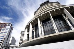 Parliament Building in Wellington, New Zealand Royalty Free Stock Photos