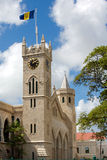 The Parliament Buildings. (Bridgetown/Barbados); photographed in october 2007 royalty free stock photography