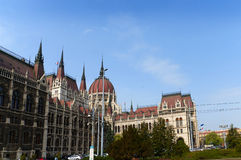 Parliament Buildings in Budapest Hungary Royalty Free Stock Photo