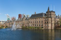 Parliament buildings in The Hague, The Netherlands Royalty Free Stock Images