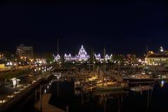 Parliament Buildings Inner Harbour Victoria BC Stock Images