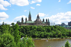 Parliament Buildings and Library, Ottawa Stock Photography