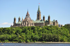 Parliament Buildings and Library, Ottawa Royalty Free Stock Images