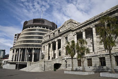 Parliament buildings, NZ Royalty Free Stock Photo