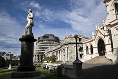 Parliament buildings, NZ Royalty Free Stock Image