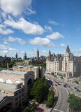 Parliament Buildings in Ottawa, Canada Royalty Free Stock Photography