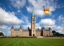 Parliament Buildings in Ottawa, Canada Stock Photo