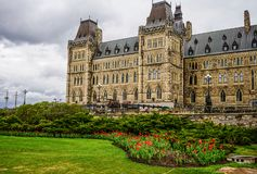 Parliament Buildings in Ottawa, Canada stock photography