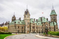 Parliament Buildings in Ottawa, Canada stock photos