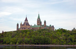 Parliament Buildings in Ottawa Royalty Free Stock Photography