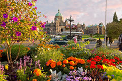 The Parliament Buildings Victoria Stock Images