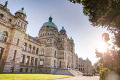 Parliament Buildings, Victoria, BC, Canada Royalty Free Stock Photography
