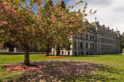 The Parliament Buildings Victoria Stock Image