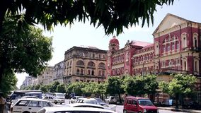 Parliament in Burma stock video footage