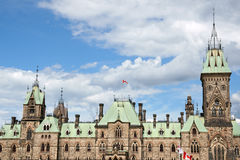 Parliament of Canada Royalty Free Stock Image