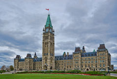 Parliament of Canada. On Parliament Hill, on Ottawa Stock Photography