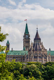 Parliament of Canada Royalty Free Stock Photography