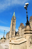 Parliament of Canada in Ottawa Stock Image