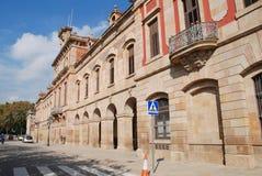 Parliament of Catalonia, Barcelona Royalty Free Stock Photos