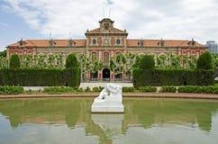 Parliament of Catalonia Royalty Free Stock Photo