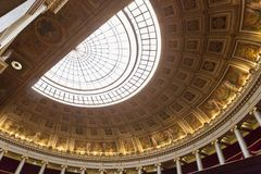 The parliament chamber of deputies at the Assemblee Nationale,  Paris, France Stock Photography