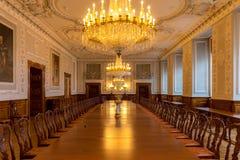 Parliament Christiansborg palace. Danish Parliament building and christiansborg Palace, Copenhagen Denmark Stock Image