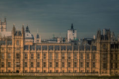 Parliament close up Stock Photography