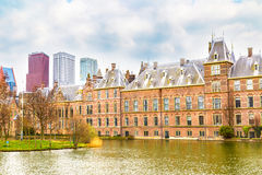 Parliament and court building complex Binnenhof in Hague, Holland Royalty Free Stock Photo