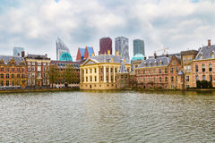 Parliament and court building complex Binnenhof in Hague, Holland Royalty Free Stock Image