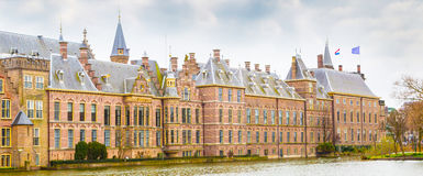 Parliament and court building complex Binnenhof in Hague, Holland Stock Photos
