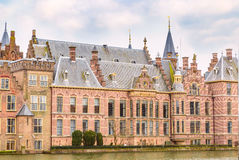 Parliament and court building complex Binnenhof in Hague, Holland Stock Images
