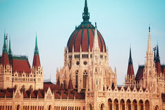 Free Parliament Cupola In Budapest, Hungary Stock Images - 40632144