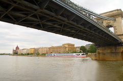 Parliament  Danube River Budapest Royalty Free Stock Photography