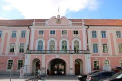 Parliament of Estonia Royalty Free Stock Photos