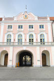 Parliament of Estonia stock image