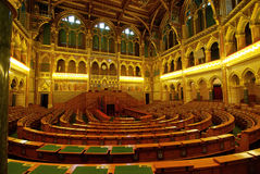 Parliament hall Royalty Free Stock Photo