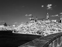 Parliament Hil on Infrared Film Stock Photography