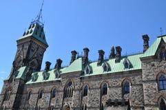 Parliament Hill in Ottawa Stock Image