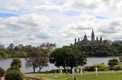 Parliament Hill in Ottawa Royalty Free Stock Photo