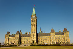 Parliament Hill in Ottawa, Canada Royalty Free Stock Photography